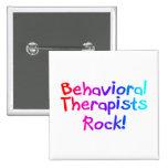 Behavioral Therapists Rock Pin