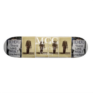 Behead those who insult crackers skateboard deck