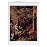 Beheading Of John The Baptist By Niklaus Manuel Greeting Card