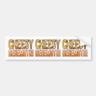 Behemoth Blue Cheesy Bumper Sticker