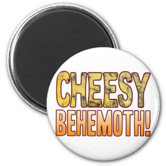 Behemoth Blue Cheesy Magnet