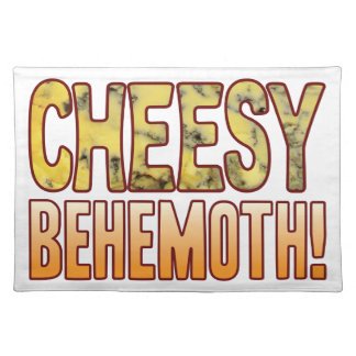 Behemoth Blue Cheesy Placemat
