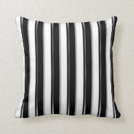 Behind Bars (Add photo or 2nd Color) Throw Pillow