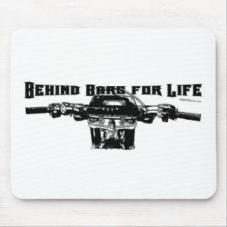 Behind Bars For Life – Motocross Mouse Pad