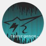 Behind Bars Resurgence Clothing Company Sticker