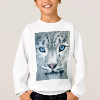 Behind Blue Eyes - Snow Leopard Sweatshirt
