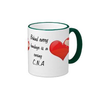 Behind every bandage ringer coffee mug