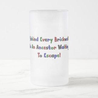 Behind Every  Brickwall Is... Coffee Mug
