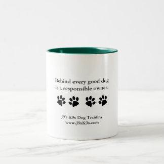 Behind every good dog... Mug