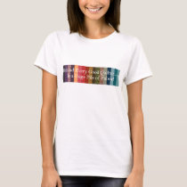 Behind every good quilter T-Shirt
