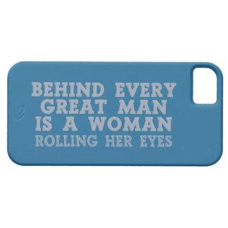 Behind Every Man custom iPhone cases