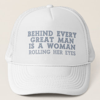 Behind Every Man hats