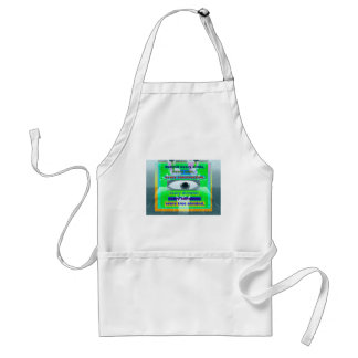 Behind every smile tear and tree planted aprons