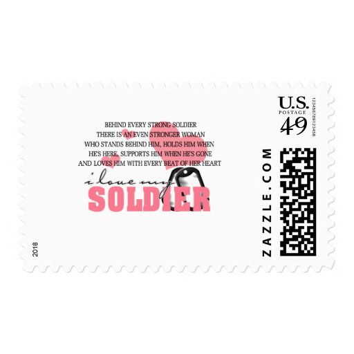 Behind every Soldier Stamp