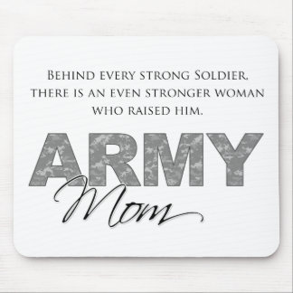 Behind Every Strong Soldier 1 Mouse Pad