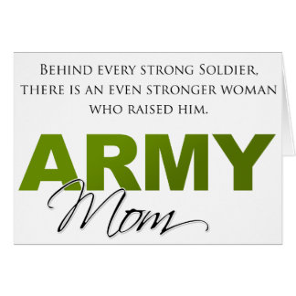 Behind Every Strong Soldier 2 Greeting Cards