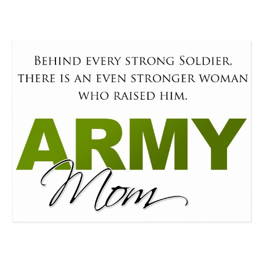 Behind Every Strong Soldier 2 Postcard