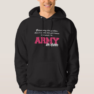 Behind Every Strong Soldier 3 Hooded Pullover