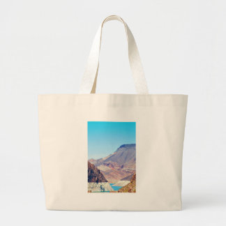 Behind Hoover Dam collection Tote Bags