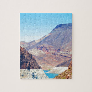 """""""Behind Hoover Dam"""" collection Jigsaw Puzzle"""