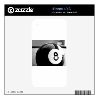 Behind the 8-Ball, Eight Ball iPhone 4 Decal