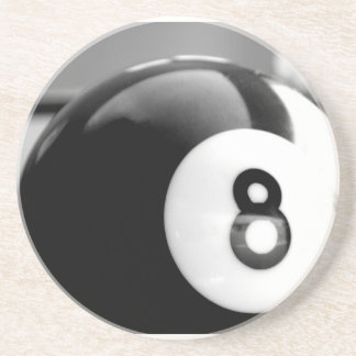 Behind the 8-Ball, Eight Ball Sandstone Coaster