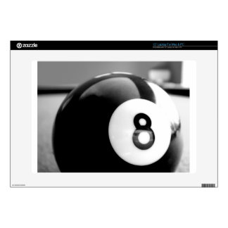 Behind the 8-Ball, Eight Ball Skin For Laptop