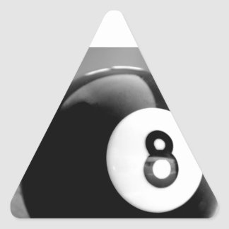 Behind the 8-Ball, Eight Ball Triangle Stickers