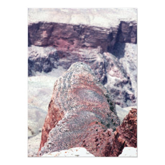 Behind the Alligator at Grand Canyon 5.5x7.5 Paper Invitation Card