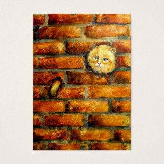 Behind The Brick Wall ACEO Art Trading Cards