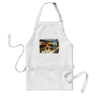 Behind the Counter at the Drugstore Adult Apron