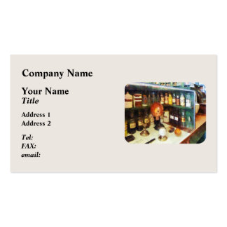 Behind the Counter at the Drugstore Business Card
