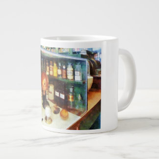 Behind the Counter at the Drugstore Giant Coffee Mug