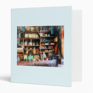 Behind the Counter at the General Store 3 Ring Binder