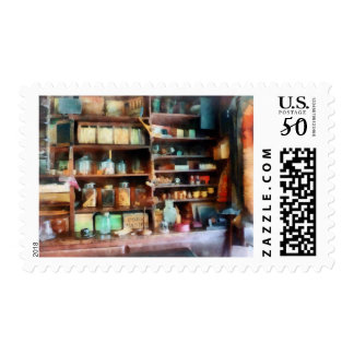 Behind the Counter at the General Store Postage