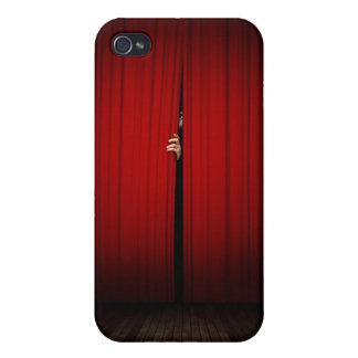 Behind the Curtain iPhone 4/4S Covers