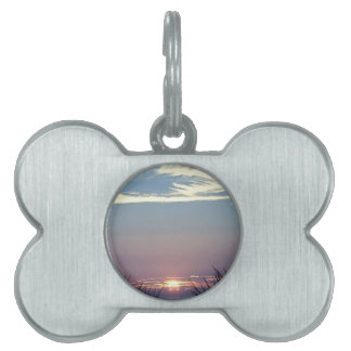Behind The Dunes Pet Name Tag