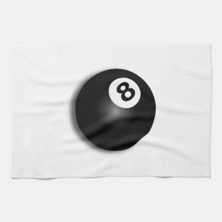 Behind The Eight Ball! Hand Towels