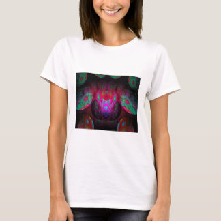 Behind the Eyes Brilliant Color Abstract T-Shirt