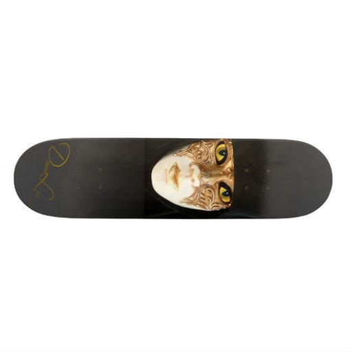 Behind the Mask Masquerade Skateboards