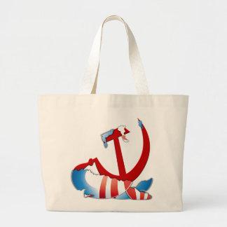 Behind The Obama Logo Tote Bag