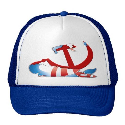 Behind The Obama Logo Trucker Hat