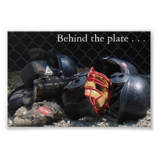 Behind the Plate Poster
