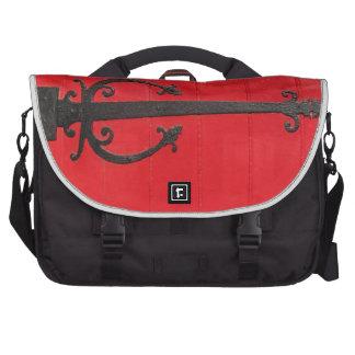 Behind the Red Door Laptop Commuter Bag