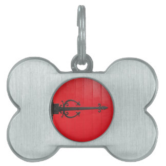 Behind the Red Door? Pet Tags