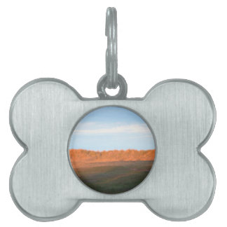 Behind The Sand Dunes Pet ID Tag