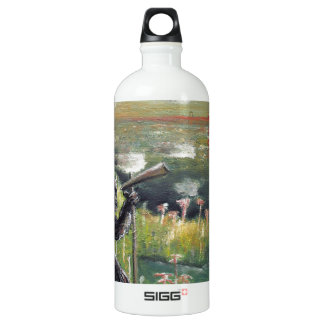 Behind the scenes-Morning broadcast-Custom Print! Water Bottle