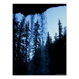 Behind the Waterfall Poster