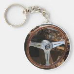 Behind the Wheel Keychain
