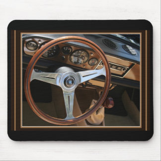 Behind the Wheel Mouse Pad